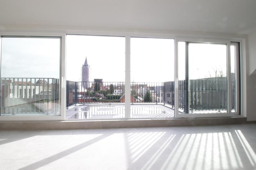Woonkamer penthouse