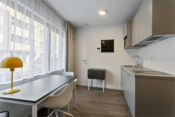 New furnished studio available close to the historic center of Leuven in a quite neighborhood.